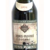 MOUNIER DENIS Gold Leaf Cognac 1904
