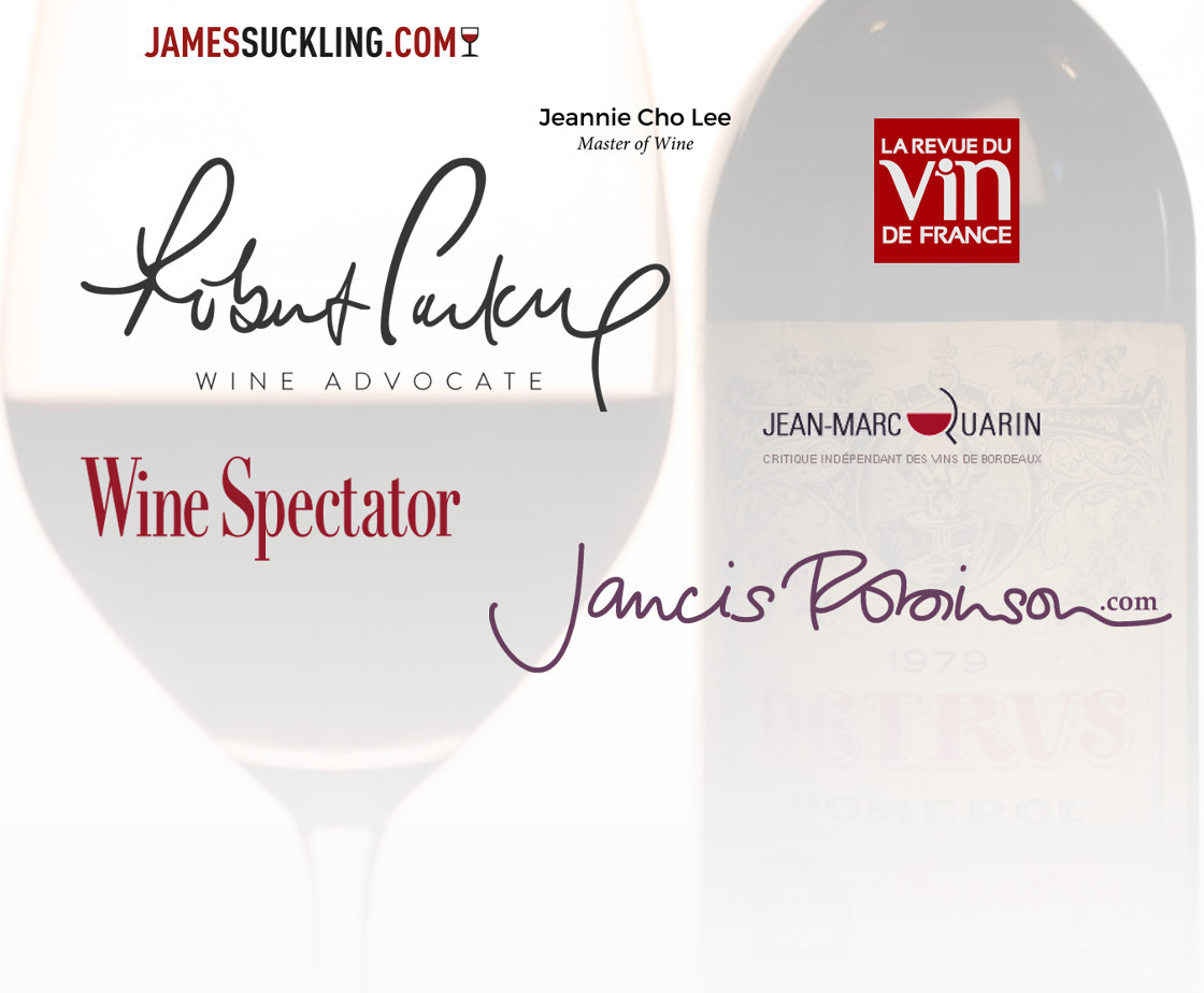 The wines rated 95/100 and more